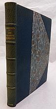 LOUŸS (Pierre). Les Chansons de Bilitis. Paris, Librairie de l'Art Indépendant, 1895. In-8, demi-maroquin bleu de Prusse avec coins, dos à nerfs, couverture et dos, tête dorée (Ad. Lavaux).