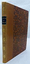 MALLARMÉ (Stéphane). Les Poésies. Bruxelles, Edmond Deman, 1899. In-8, demi-basane fauve, dos orné de fleurons dorés, pièce de titre bleue, tranches mouchetées, couverture (Reliure de l'époque).
