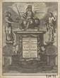 BOURGOGNE (Antoine de). Mundi lapis Lydius. Augsbourg, Johanne Ulrich Kraus, 1711. Petit in-4, demi-veau vert olive, dos orné or et à froid (Reliure du début du XIXe siècle).