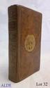 BOUTILLIER (Abbé). Abrégé méthodique de la géographie ancienne et moderne, avec des cartes de six pieds de hauteur, pour l'instruction publique de la jeunesse. Paris, chez l'auteur, 1779. In-12, basane marbrée, filet doré, fleur de lis aux angles,