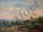 Barend Cornelis KOEKKOEK (1803-1862).  Vues de la campagne.  Paire d'huiles sur panneaux.  signées B C Koekkoek.  H.  32 cm - L.  41 cm