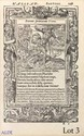 ALCIAT (André). Emblèmes de nouveau translatez en françois. Lyon, Guillaume Rouillé, 1549. In-8, veau blond, triple filet doré, dos lisse orné, pièce de titre rouge (Reliure vers 1820).