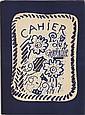 BRAQUE (G). Cahier de Georges Braque. 1917-1947. Paris, Maeght, [1948], in-4°, en ff., couverture illustrée, chemise d'éditeur illustrée.