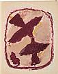 CHAR (R.) - BRAQUE (G.). Lettera amorosa. [Genève], Edwin Engelberts, 1963, in-4°, broché, couverture, boîte d'éditeur.