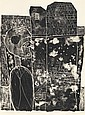 GUILLEVIC (E.) - DUBUFFET (J.). Les Murs. Paris, Les Éditions du Livre, [1950], in-folio, en ff., couverture, chemise-étui d'éditeur.