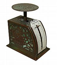 Tiffany Studios Grapevine Letter Scale