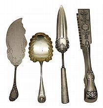 Grouping of Sterling Silver Serving Pieces