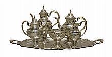 Sterling Silver Coffee & Tea Service