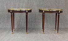 Pair of Tray Top End Tables, by Baker 27
