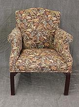 Upholstered Lolling Chair, 20 th c, 37