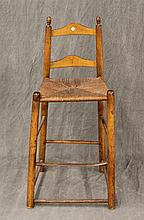 Shaker High Chair, Distressed, 43