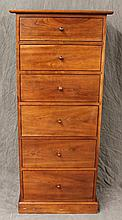 Stickley, Contemporary Tall Chest Of Drawers, Cherry, (Very Good Condition), 52 3/4