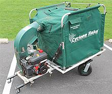 Cyclone Rake Leaf Collection System, Tecumseh Enduro XL 6 Hp Engine with Overhead Valve and Cast Iron Sleeve, 53