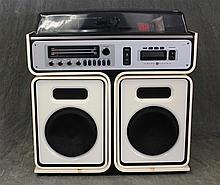 General Electric, Contemporay Stereo Component Music System, Model # SC7300, AM / FM, Diamond Styles Turntable and 8 Track Cassette,...