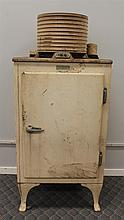 General Electric, Early 20th Century Refrigeration System, Cast Iron, Foot Latch Mechanism, Model # 3412668, (Rust), 66