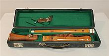 Baroque f-bass recorder by
