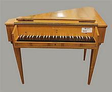 Sperrhake (Passan) Harpsichord #581977. 37.5