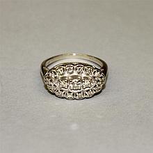 14KW Gold, Diamond Ring