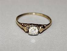 14KY Gold, Diamond Ring