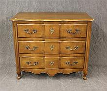 Chest of Drawers, French Provincial, Cherry with Oak Secondary Wood, 34