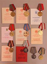 Soviet Medal Grouping - ID'ed