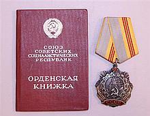 Soviet Order of Labor Glory, 3rd Class - ID'ed