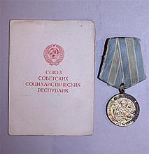 Soviet Medal for the Defense of the Arctic - ID'ed
