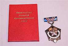 Soviet Miner's Glory Order, 3rd Class - ID'ed
