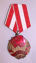 Sino Soviet friendship medal 1953