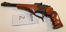Thompson Center Arms Contender single shot pistol. Cal. 7 mm T/CU. 10