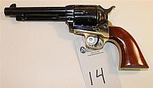 Stoeger A. Uberti Model 1873 Cattleman single action revolver. Cal. 44 WCF. 5-1/2