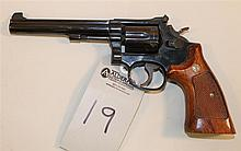 Smith & Wesson Model 14-4 K-38 Masterpiece double action revolver. Cal. 38 Spcl. 5-3/4