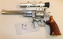 Smith & Wesson Model 629-1 double action revolver. Cal. 44 Mag. 8-1/4