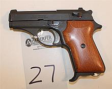 EAA Corp Model EA380 semi-automatic pistol. Cal. 380. 3-1/4