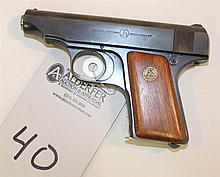 Ortgies Vest Pocket semi-automatic pistol. Cal. 25. 2-3/4