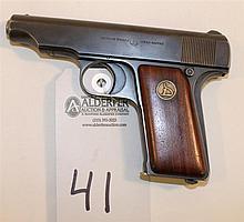 Ortgies Pocket Pistol semi-automatic pistol. Cal. 7.65 mm. 3-1/4