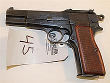 Belgium Browning Hi-Power semi-automatic pistol. Cal. 9 mm. 5