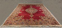 Karastan Wool Rug, (Wear in the Center Around the Medalion) 12'L x 9'W
