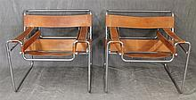 Pair of Knoll Style Wassily Chairs, 28