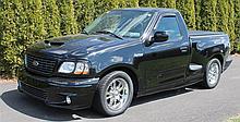 2004 Ford Heritage Lighting SVT F-150 Flare Side Pick-Up Truck, VIN# 2FTRF07314CA48496, 5.4 L V8 Supercharger Engine, 16,000 Miles,...