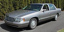 1999 Cadillac Sedan Deville, VIN# 1G6KD54Y7XU716359, 4.6 L V8 32 Valve Northstar Engine, Automatic Transmission, 75,795 Miles, All P...