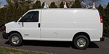 2004 Chevrolet 3500 Cargo Van, VIN# 1GCHG35U341129006, 6