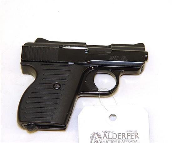 Lorcin Model L-25 semi-automatic pistol. Cal. 25. 2 1/2