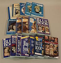SET OF (17) DOLLS AND VALUES GUIDES  -