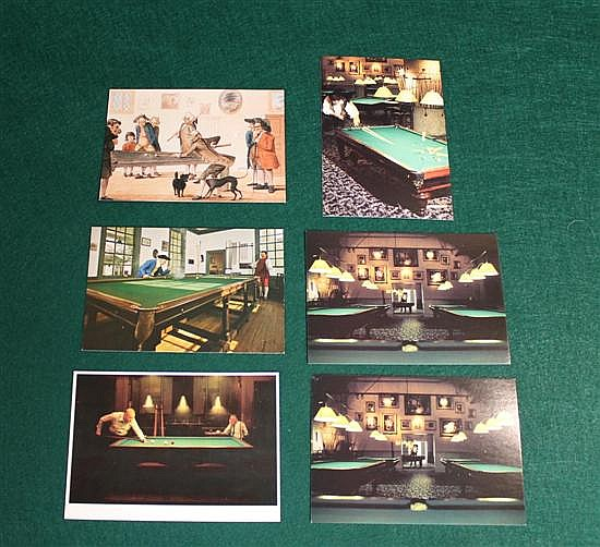 Lot of 6 pc. Modern postcards, 2 of Williamsburg