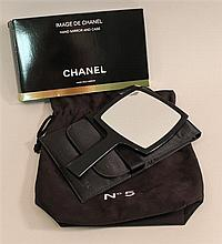 Chanel Hand Mirror with Case
