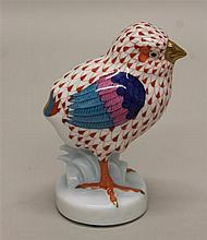Herend Porcelain Baby Chick