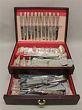S. Kirk & Sons Sterling Silver Repousse Flatware Set
