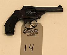 Smith & Wesson 32 Safety Hammerless 2nd Model double action revolver. Cal. 32 S&W. 3-1/2