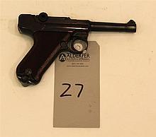 Erma-Werke Model KGP68A semi-automatic pistol. Cal. 380. 3-1/2